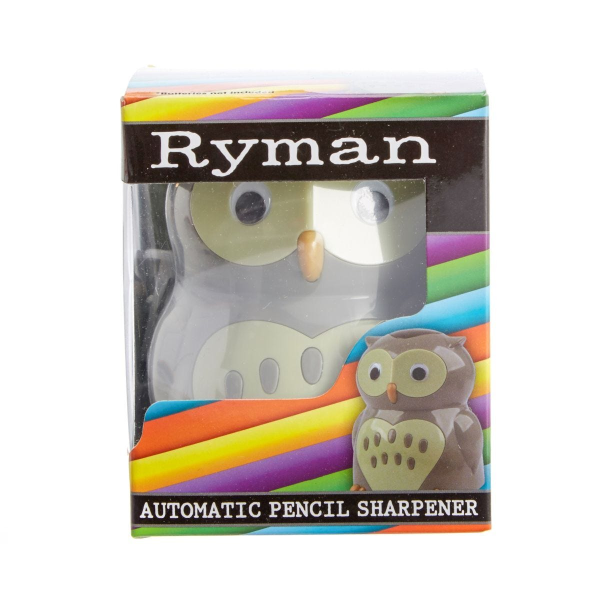 Ryman Battery Operated Pencil Sharpener Owl