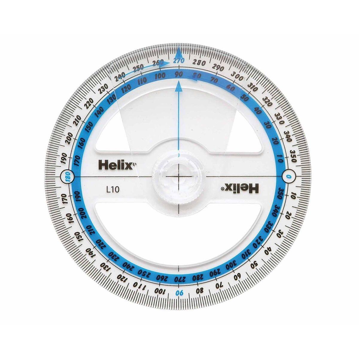 Helix Angle Measure 360 Degree