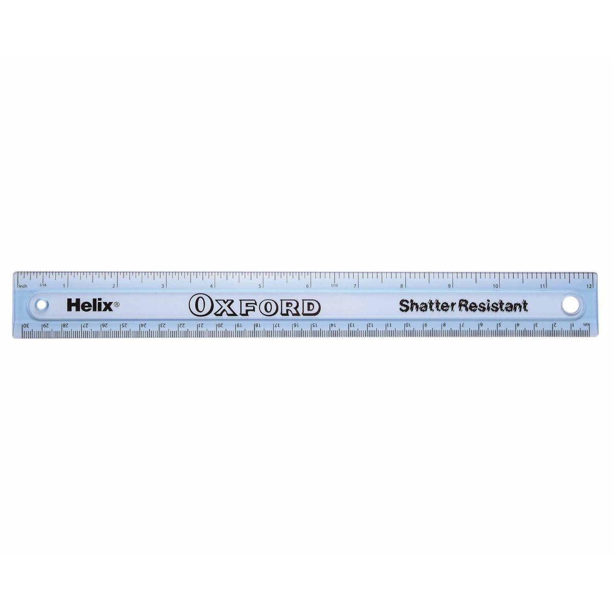 Helix Ruler 30cm Shatterproof