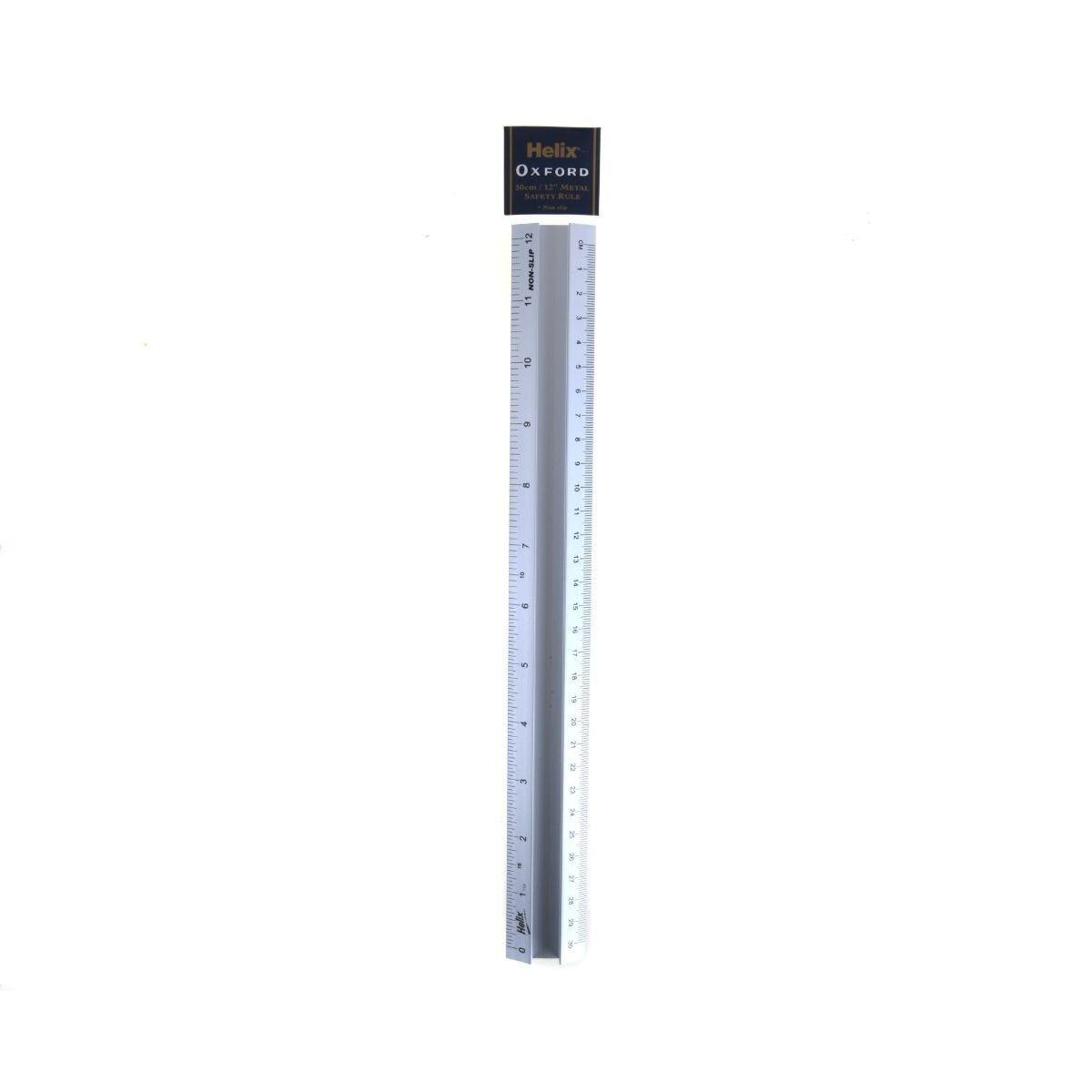 Helix Ruler 30cm Metal