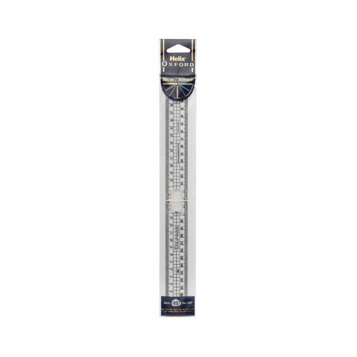 Helix Ruler 30cm Folding