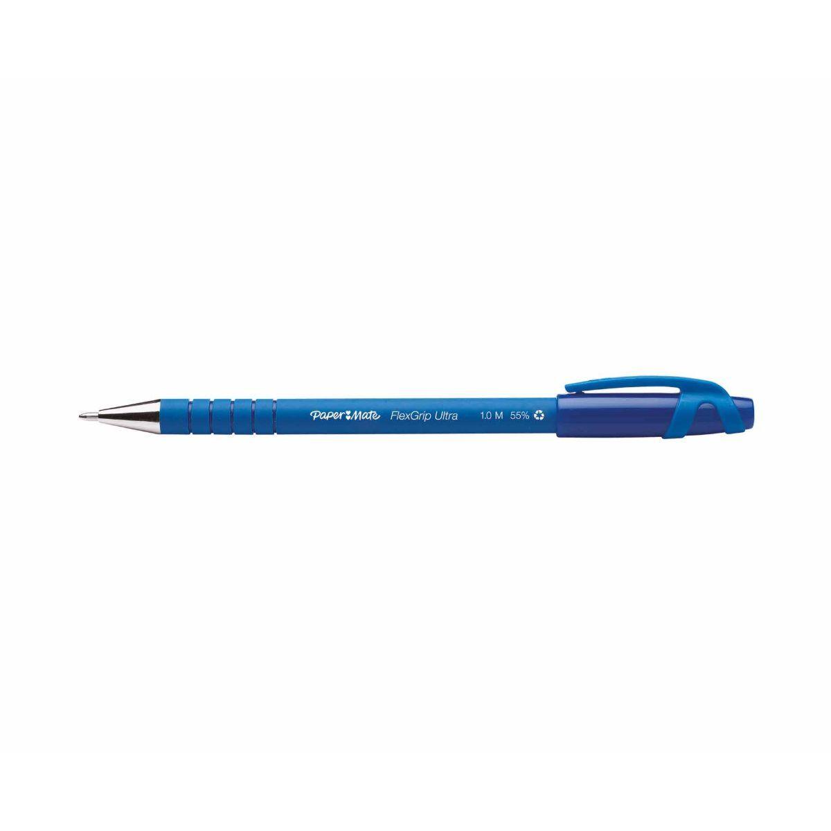 Flexgrip Capped Ballpoint Pen Medium Blue
