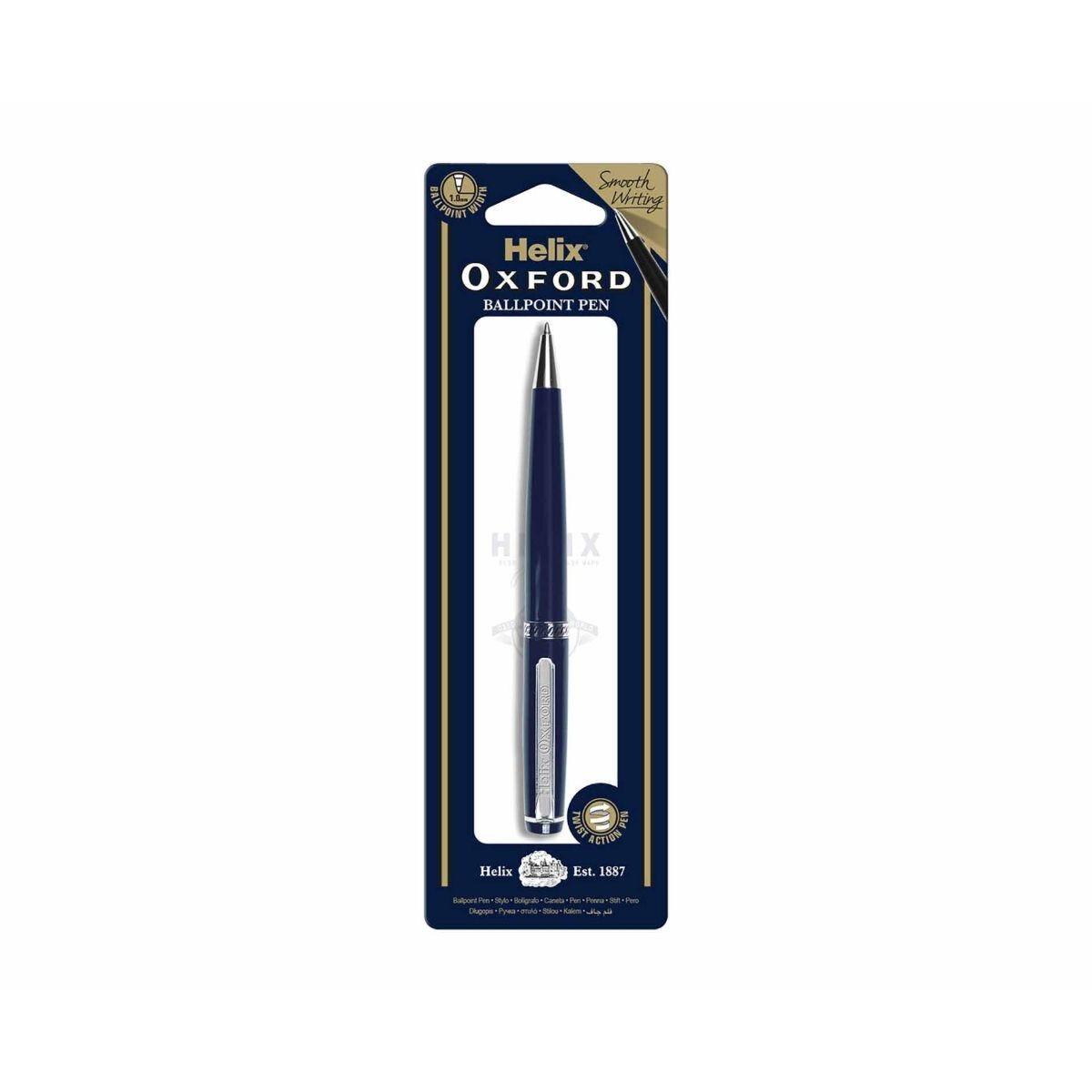 Helix Oxford Ballpoint Pen Black