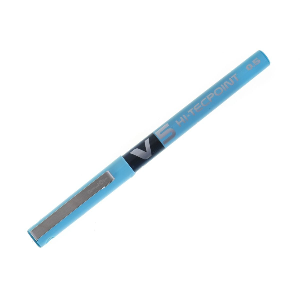 Pilot Hi Tec V5 Rollerball Pen Extra Fine Turquoise