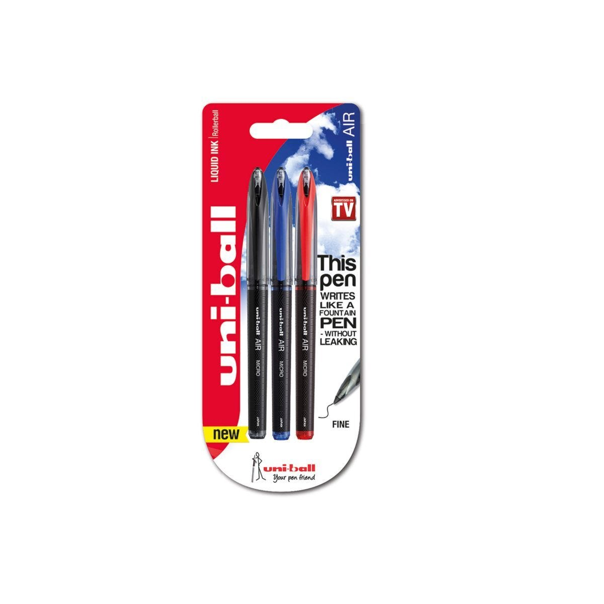 uni-ball Air Rollerball Pen Fine Pack of 12