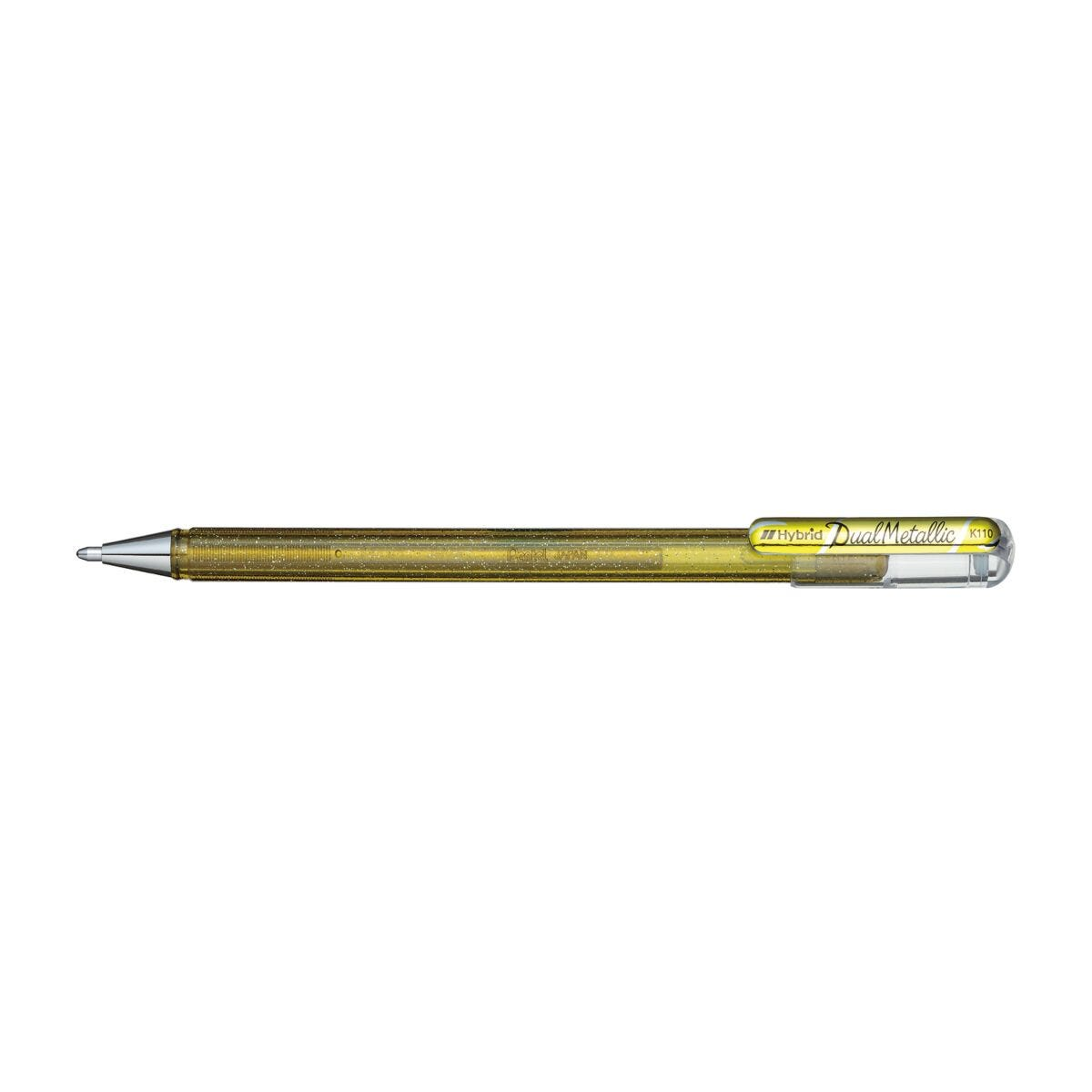 Pentel Hybrid Dual Metallic Gel Pen