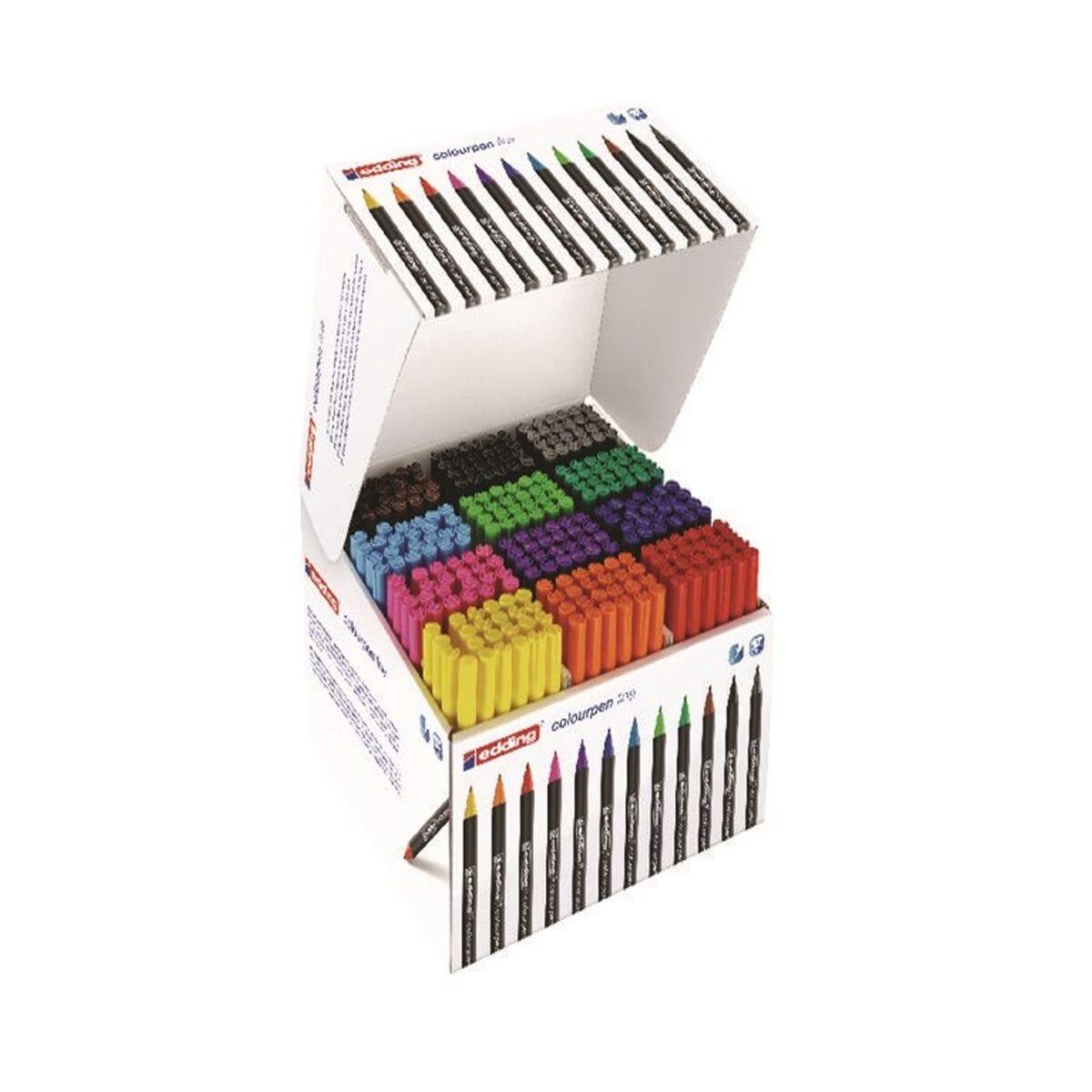 Edding Colourpen Fine Classpack of 288 Pens