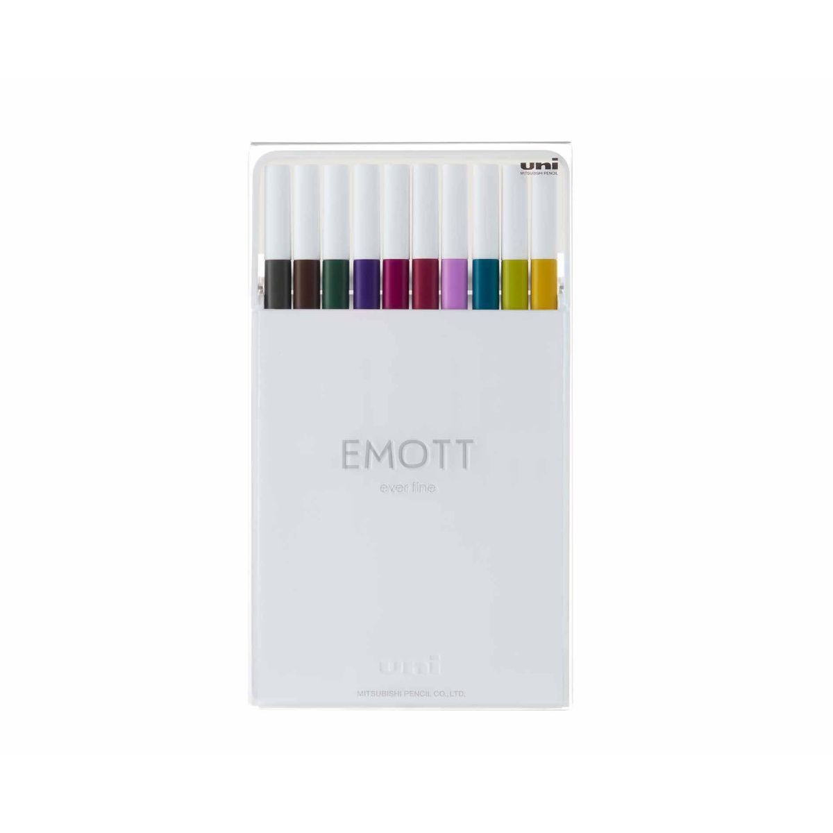 uni Emott Fineliners Vintage Pack of 10
