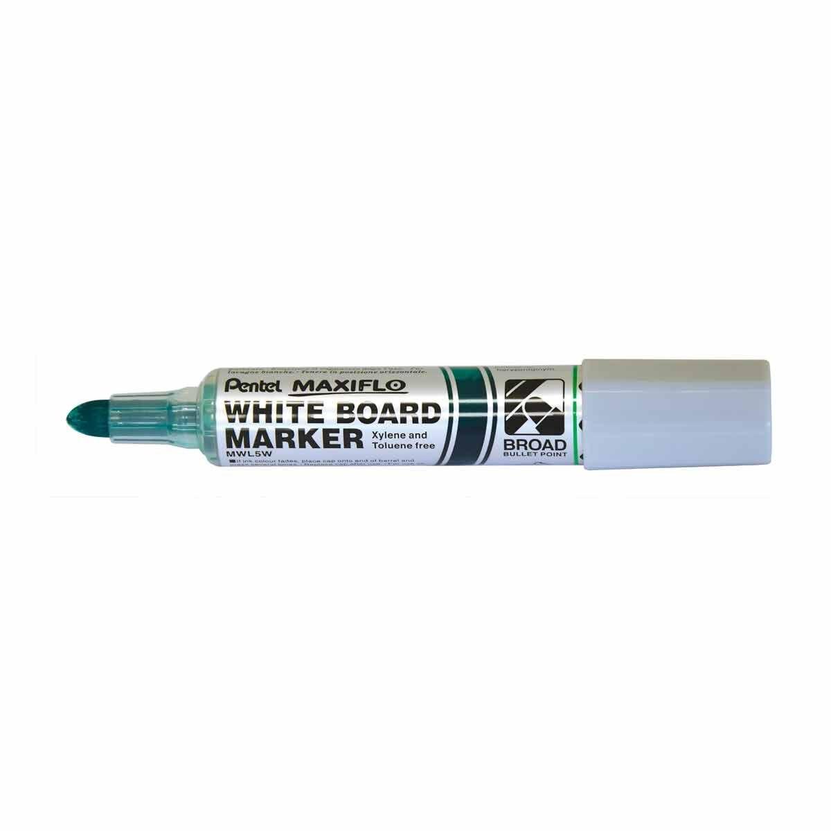 Pentel Maxiflo Whiteboard Marker Green