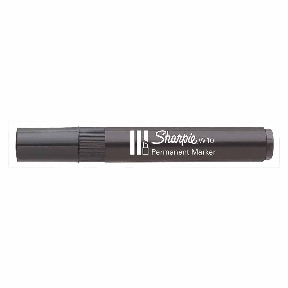 Sharpie W10 Permanent Marker Black