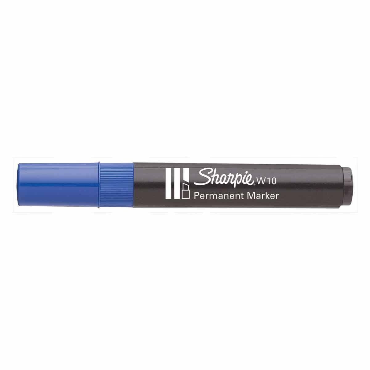 Sharpie W10 Permanent Marker Blue