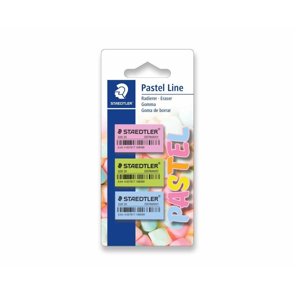 Staedtler Pastel Erasers Assorted