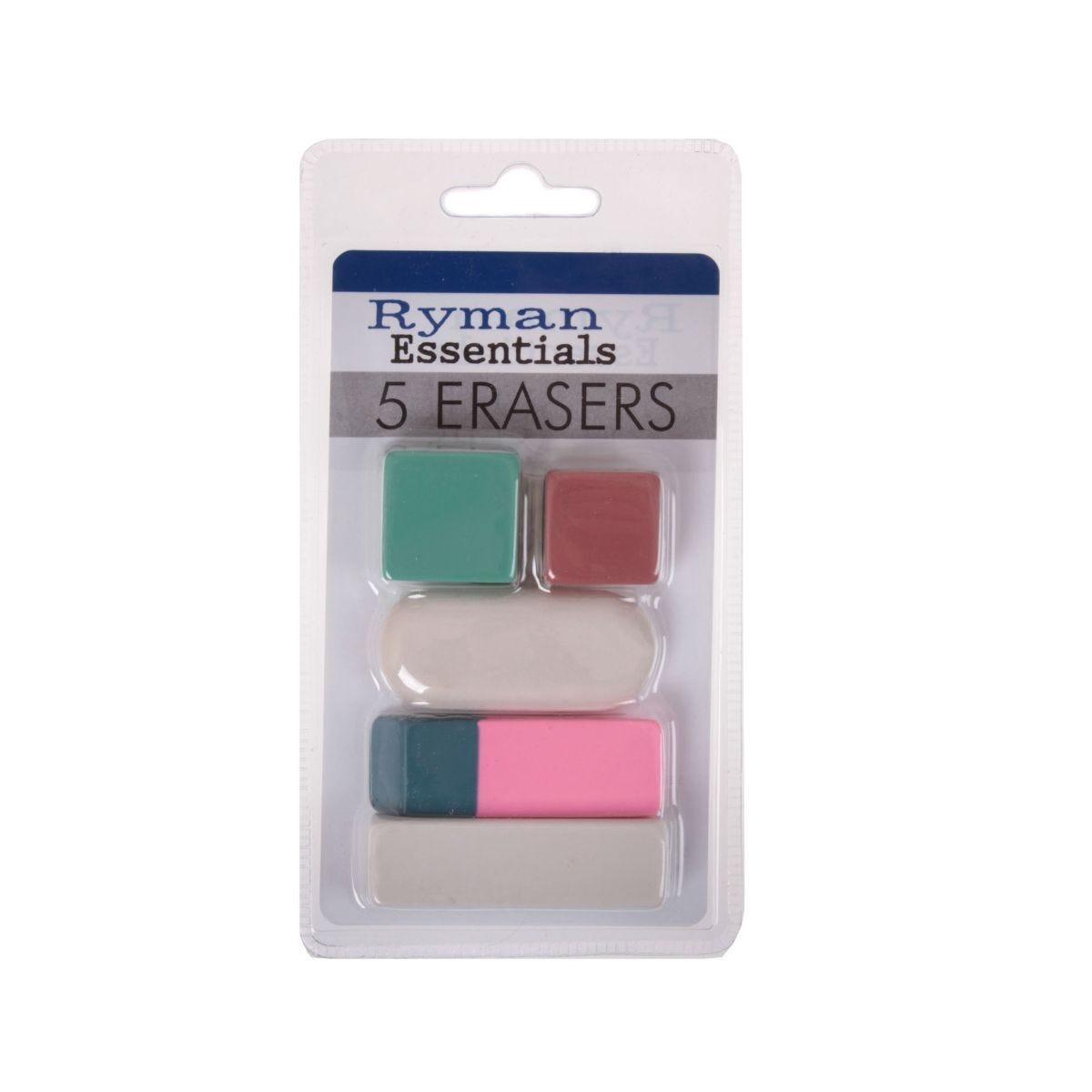 Ryman Eraser Pack of 5