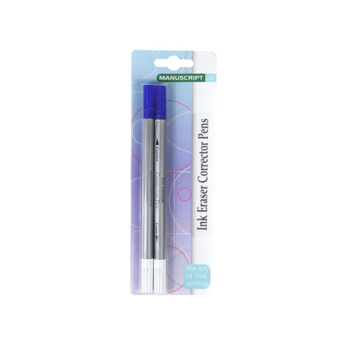 Manuscript Eraser Ink Pack of 2