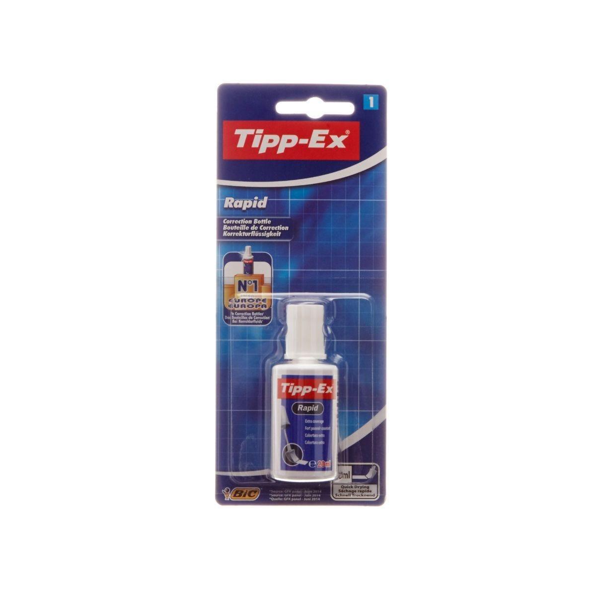 Tippex Rapid Correction Fluid Foam Applicator 20ml