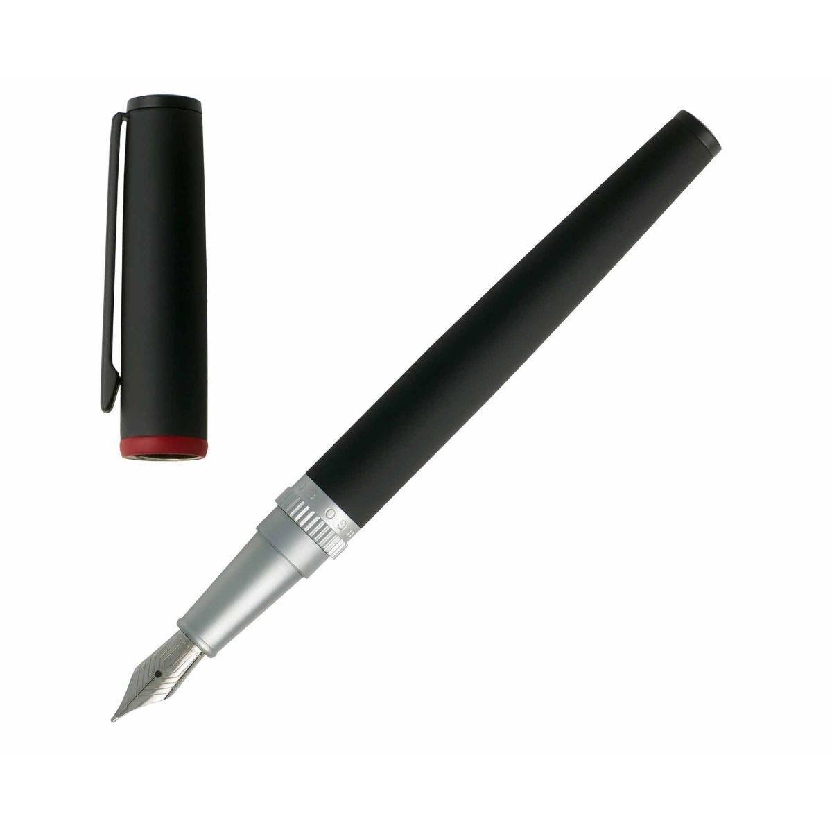 Hugo Boss Gear Fountain Pen Black