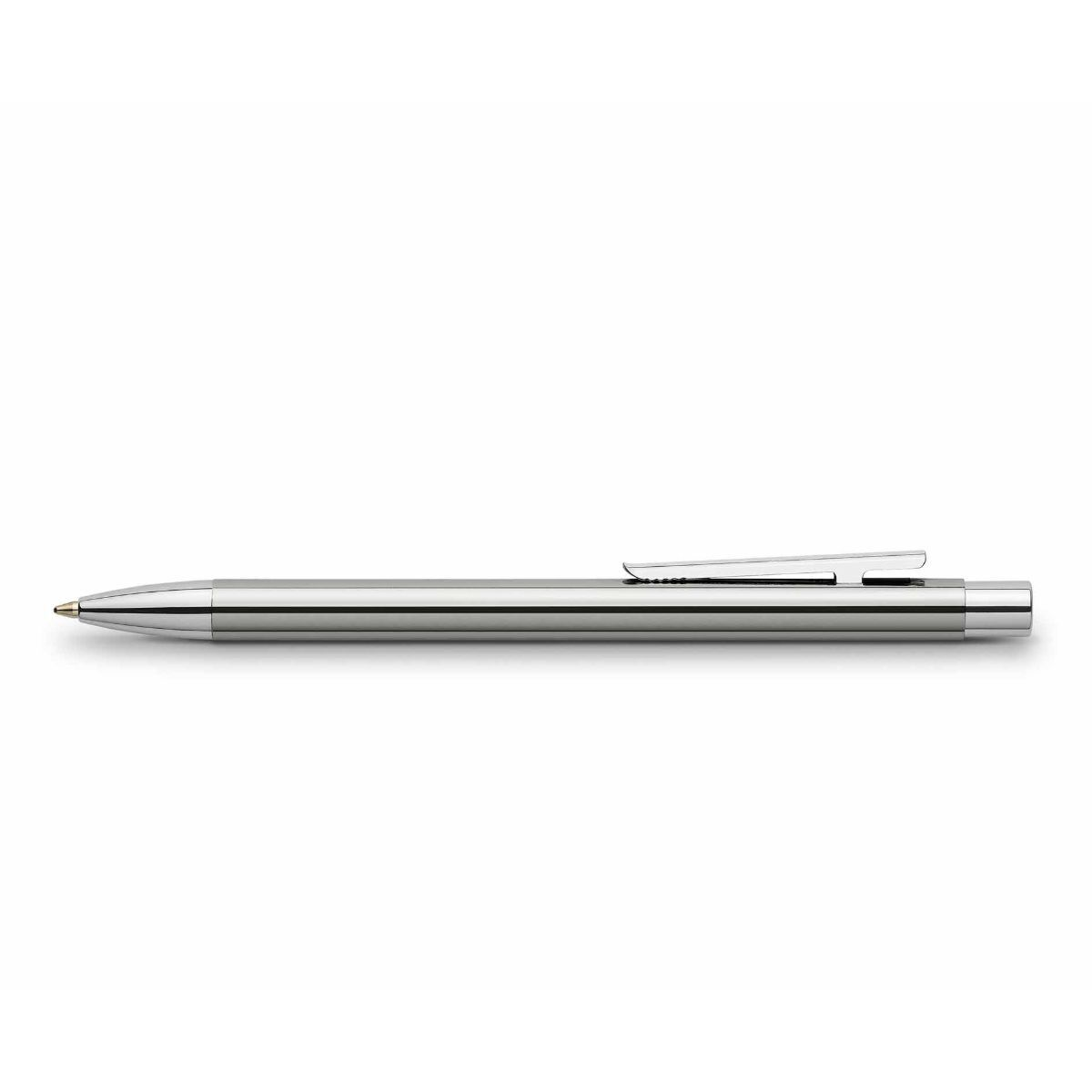 Faber Castell Neo Slim Ballpoint Pen Stainless Steel