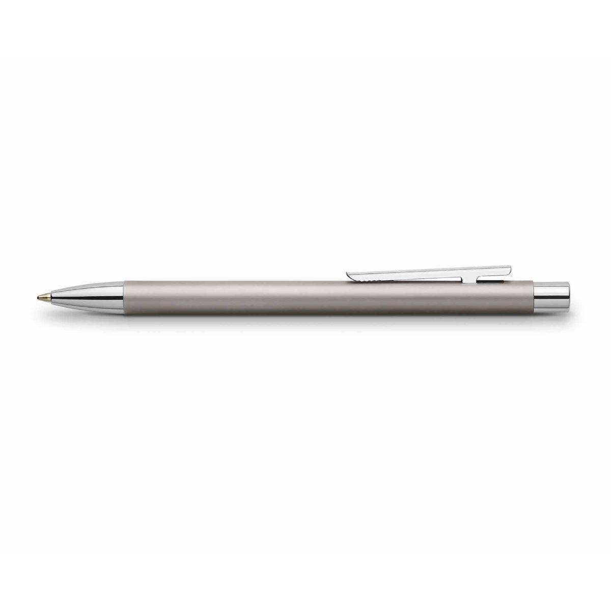 Faber Castell Neo Slim Ballpoint Pen Matte Silver