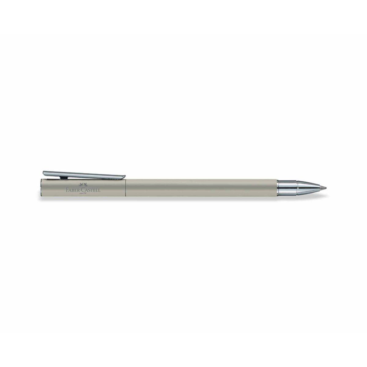 Faber Castell Neo Slim Rollerball Pen Matte Silver