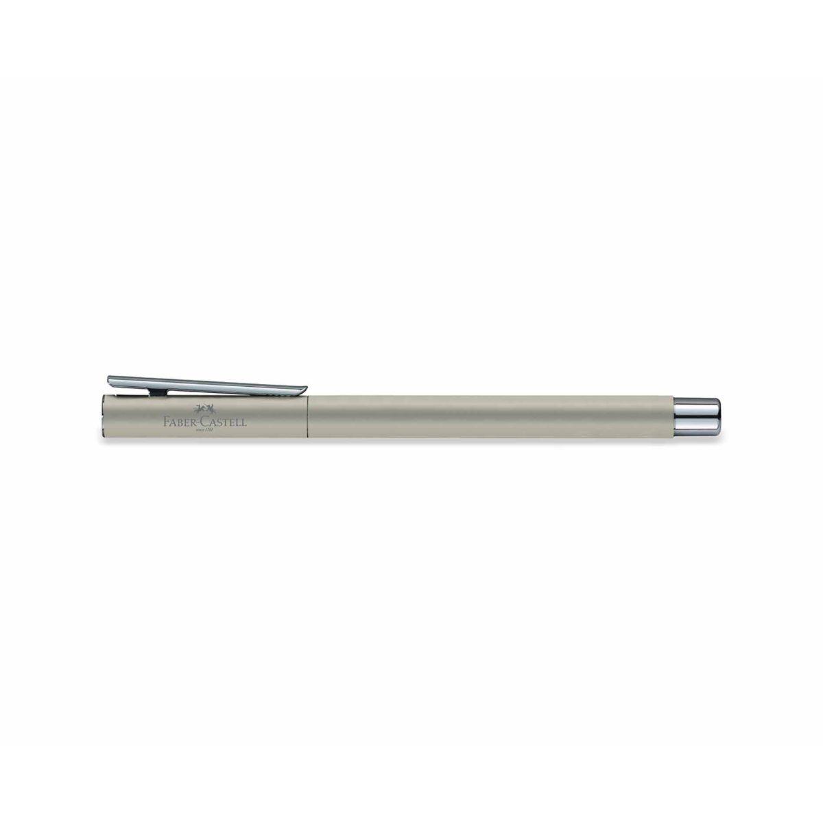 Faber Castell Neo Slim Fountain Pen Matte Silver