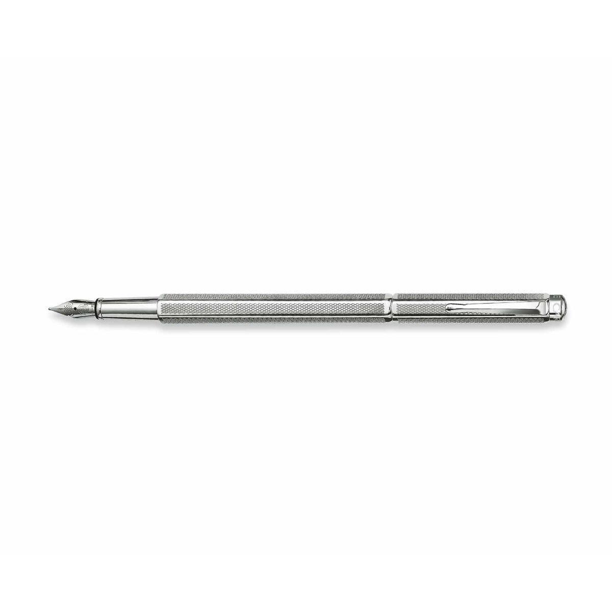 Caran d Ache Ecridor Retro Fountain Pen Steel