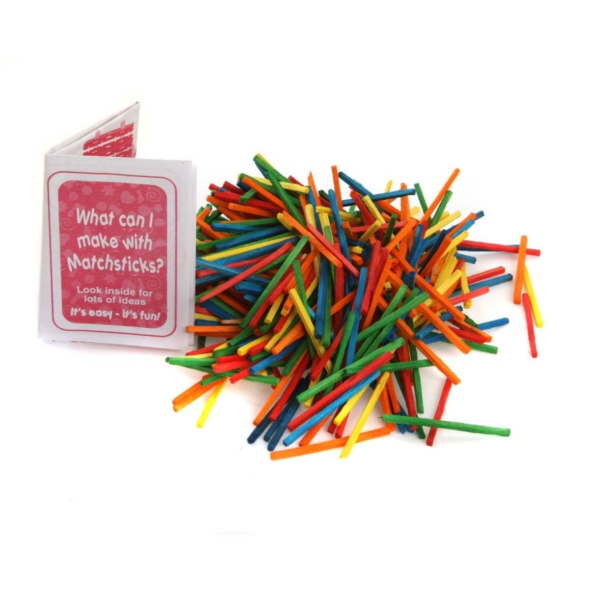 Ryman Activity Kit Coloured Matches