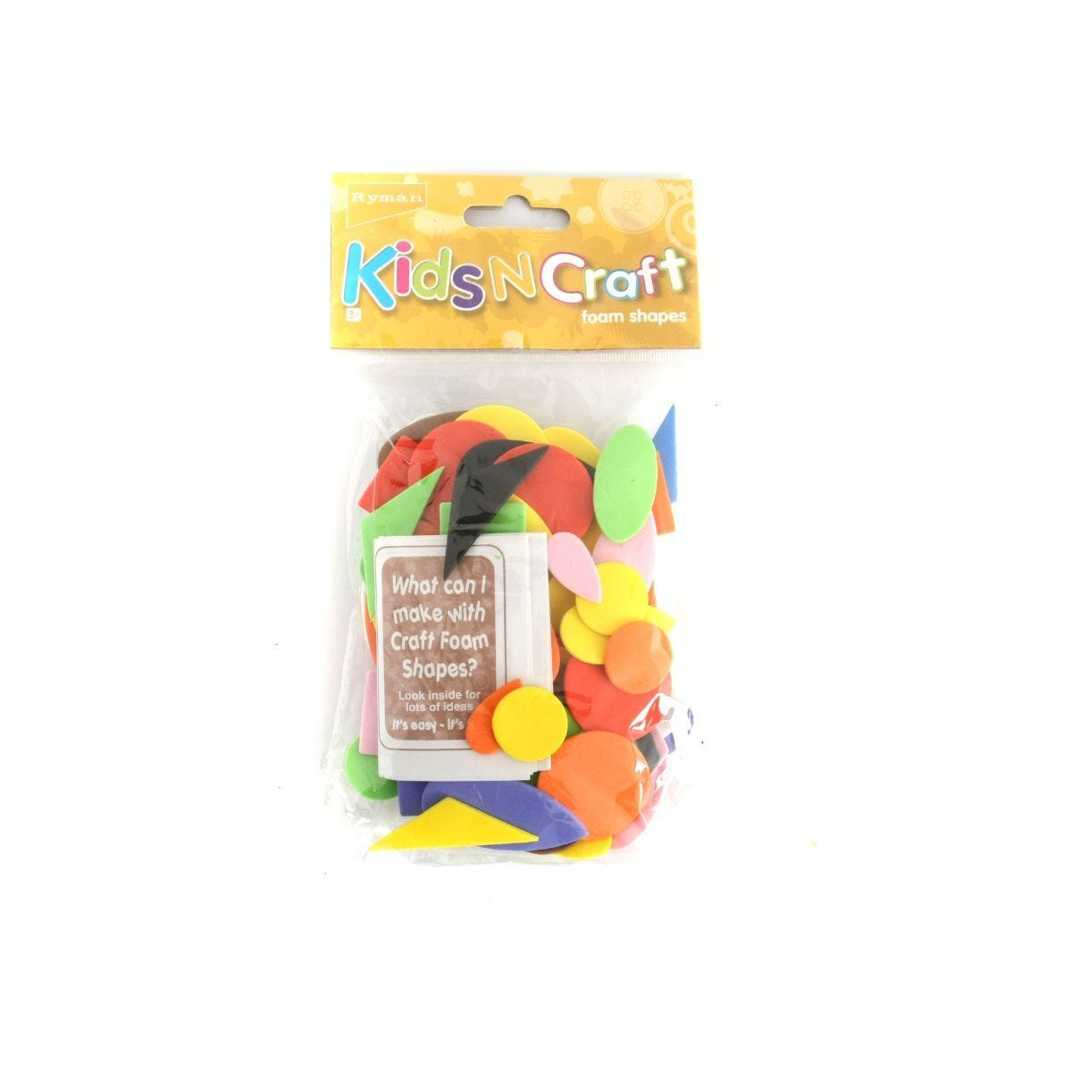 Ryman Activity Kit Foam Shapes
