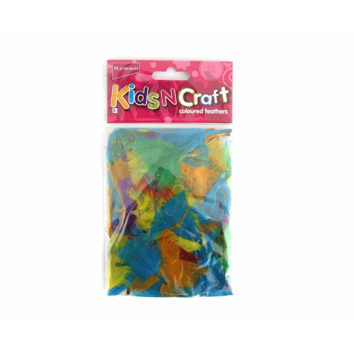 Ryman Activity Kit Colour Feathers