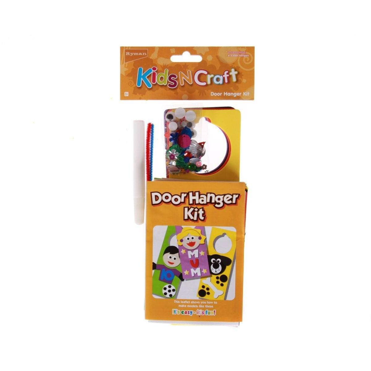Ryman Kids N Craft Activity Kit Door Hanger Kit