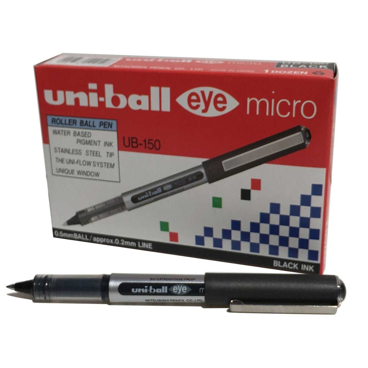 uni-ball UB150 Eye Rollerball Pack of 12