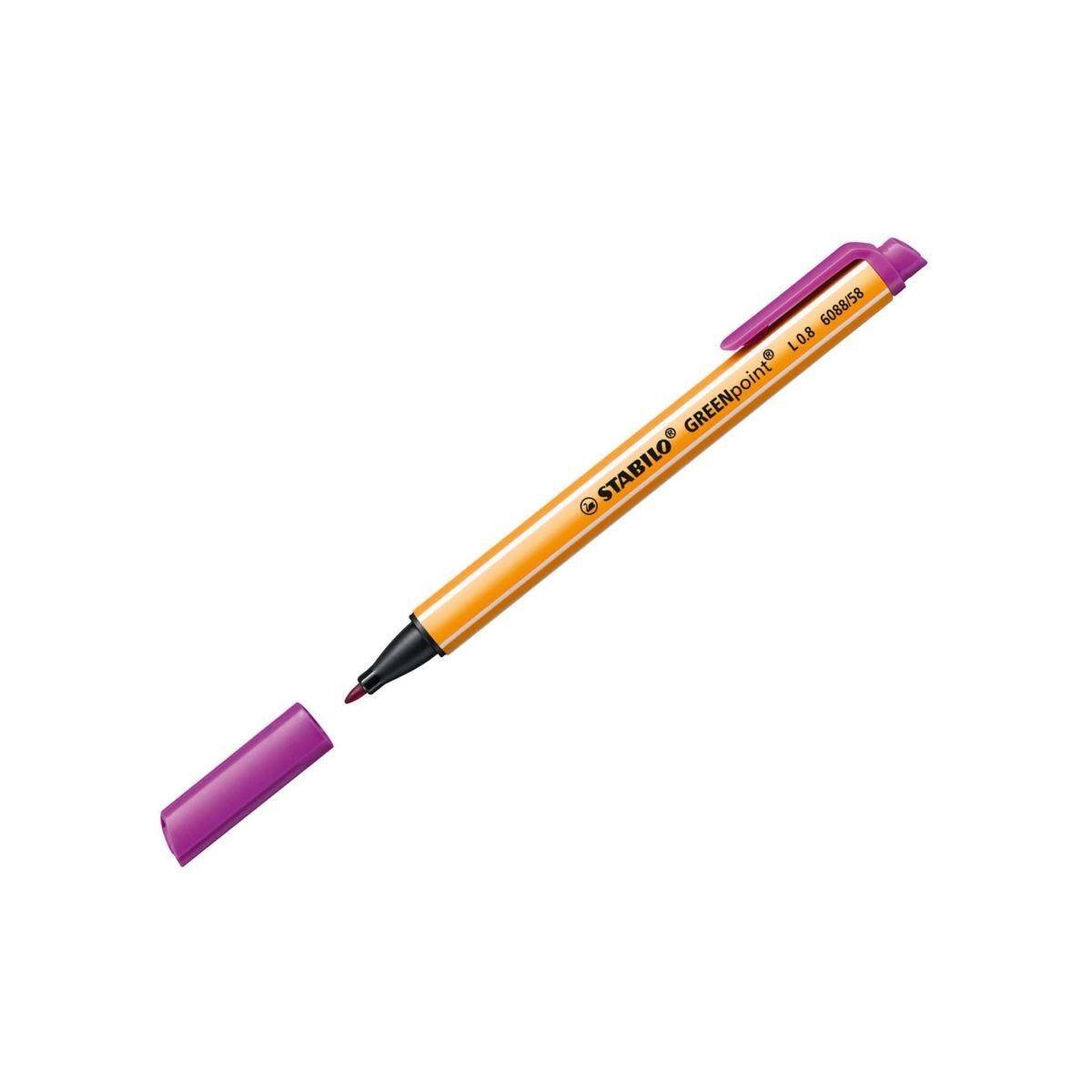 STABILO Greenpoint 10 Pcs Lilac