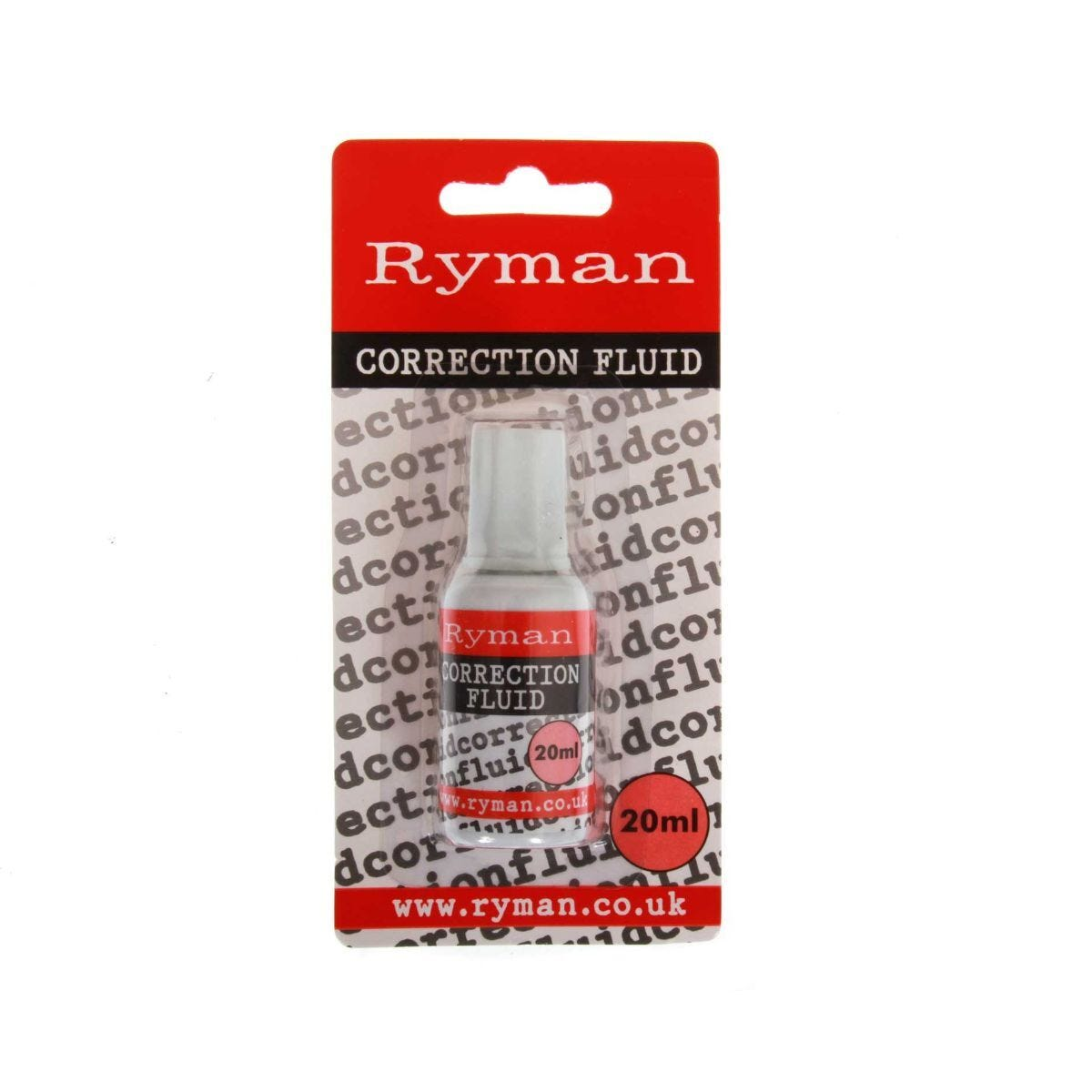 Ryman Correction Fluid 20ml Pack of 24