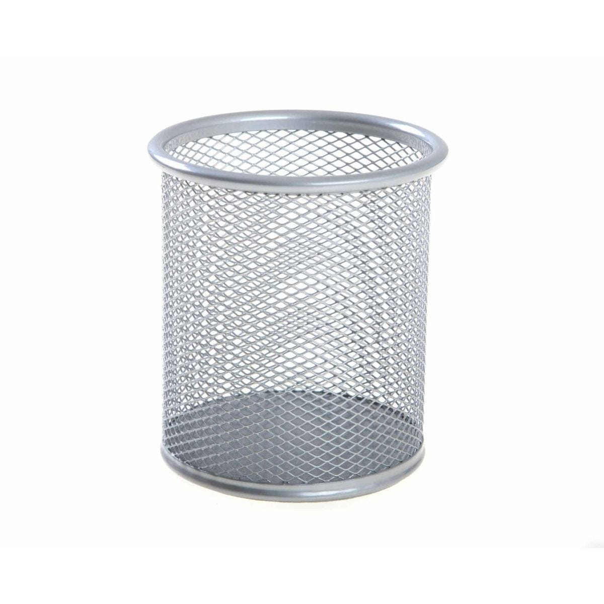 Osco Mesh Pen Holder Silver
