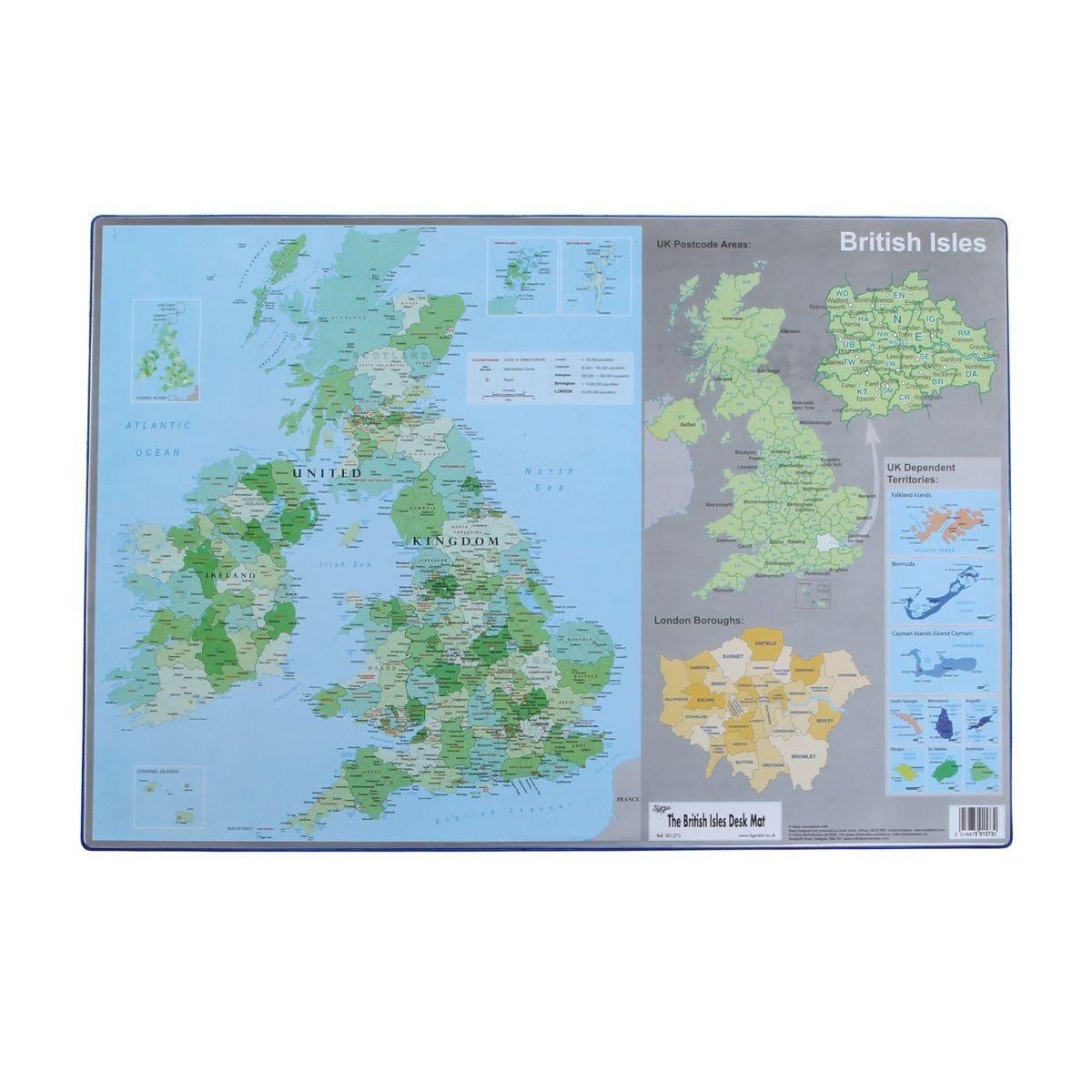 Tiger British Isles Desk Mat