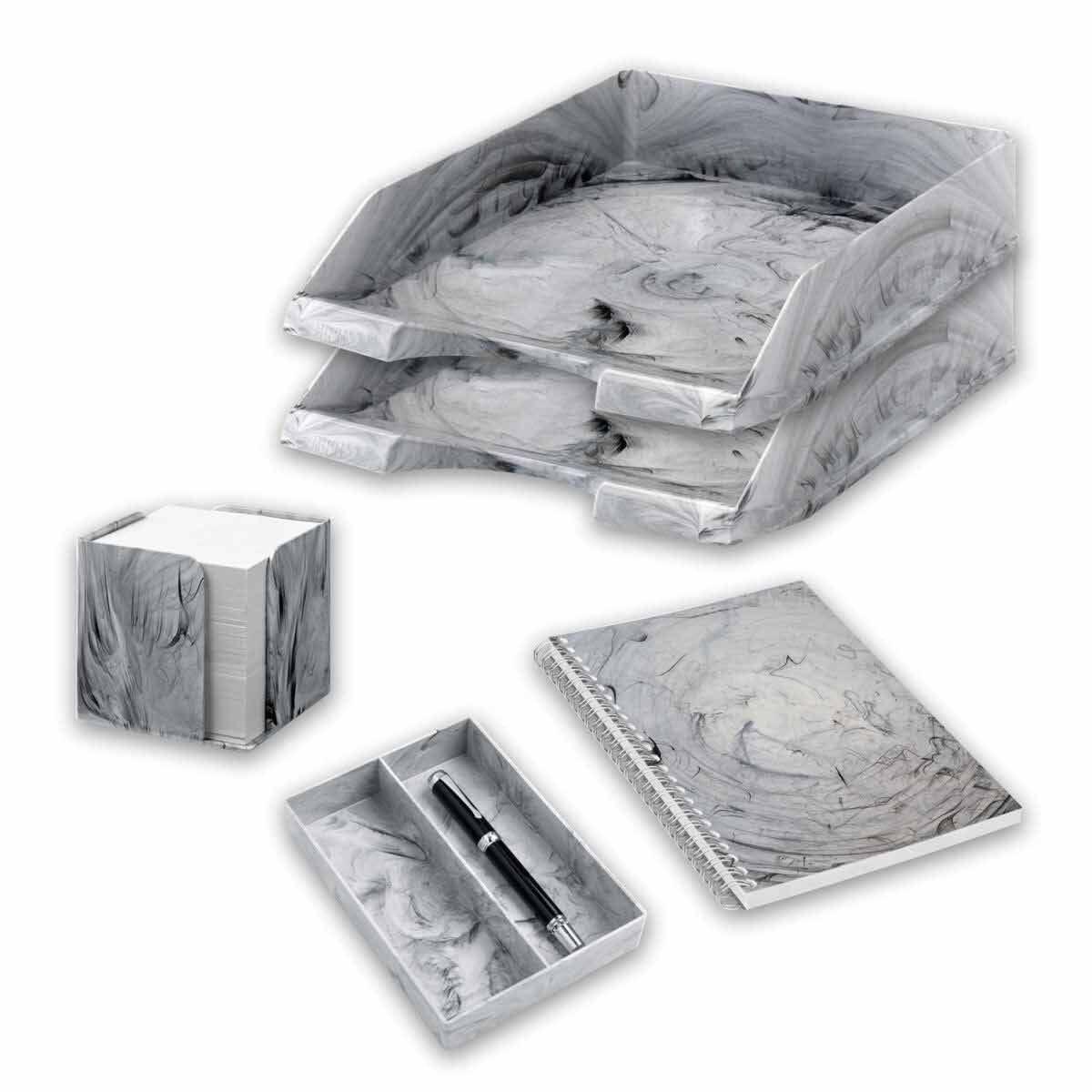 Marble Desktop Bundle Grey