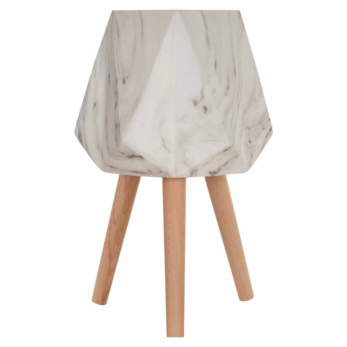 Interiors by PH Large Faux Marble Planter