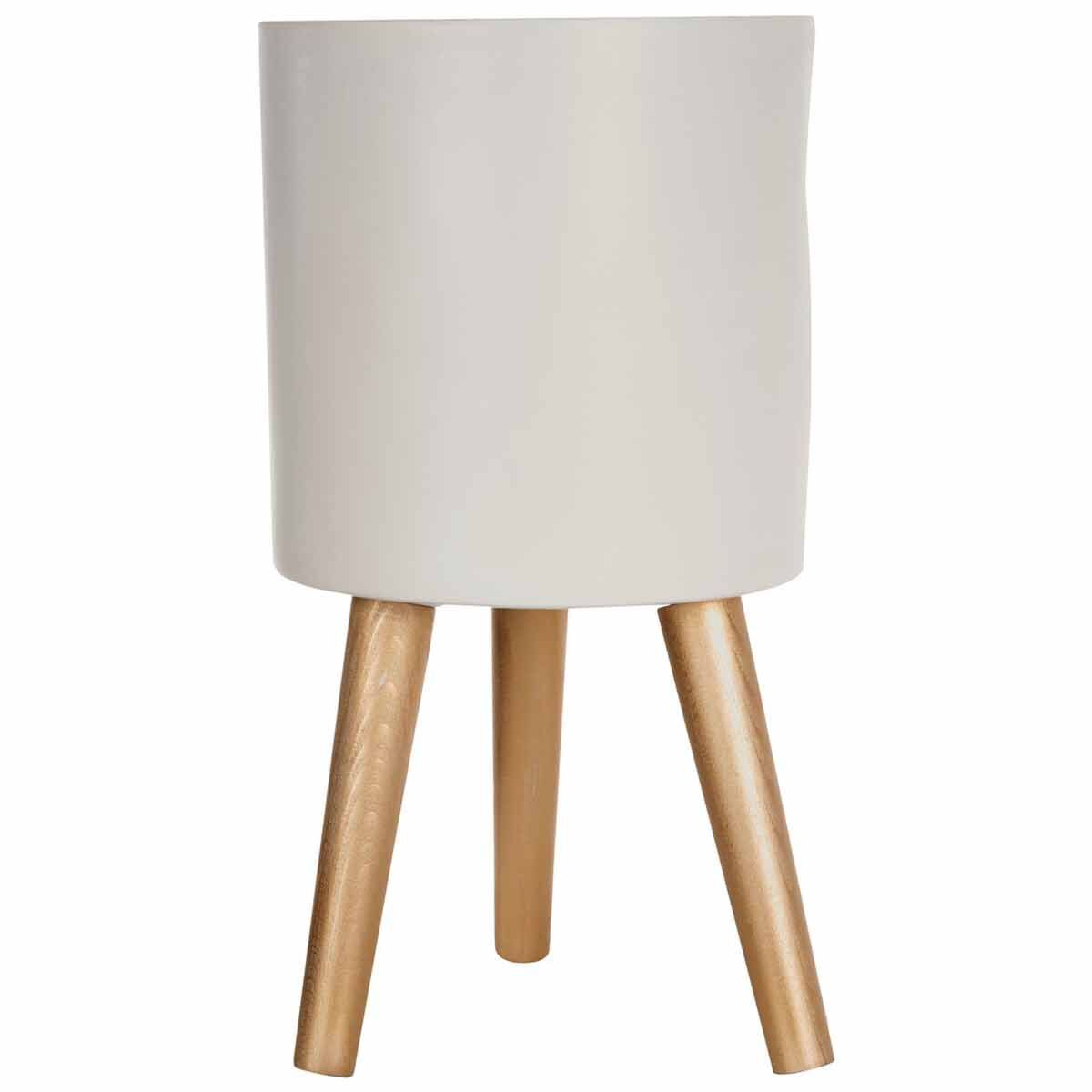 Interiors by PH Small White and Gold Planter