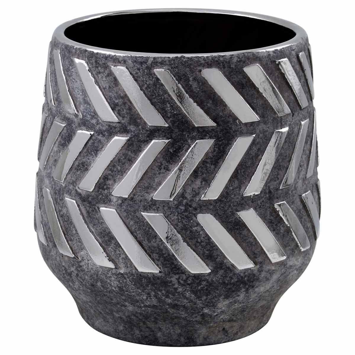 Interiors by PH Geometric Ceramic Planter