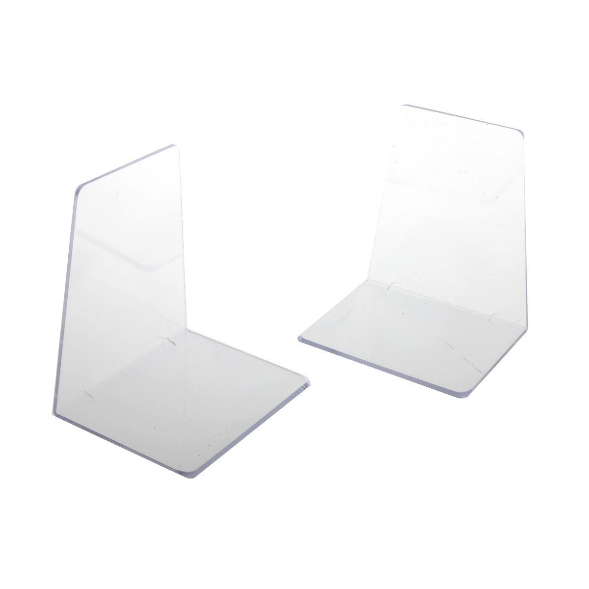 Ryman  Bookends Acrylic Pack of 2