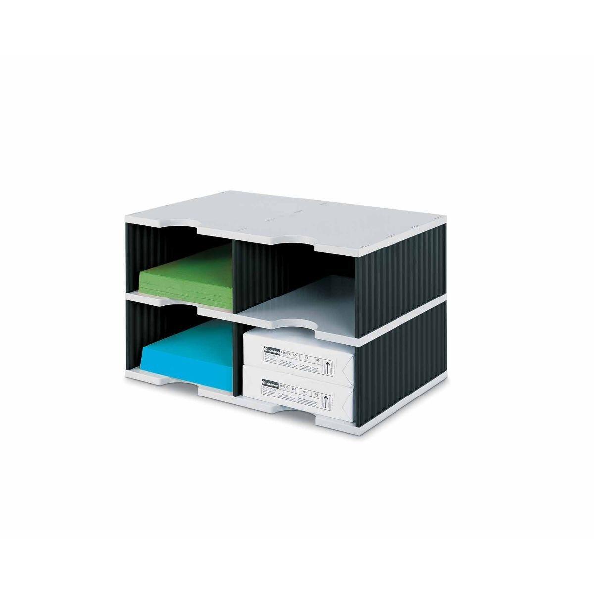 Styrodoc Jumbo Desktop Organiser 4 Drawer
