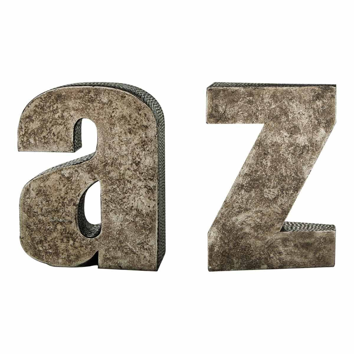 Premier Housewares Set of 2 Bookends A to Z