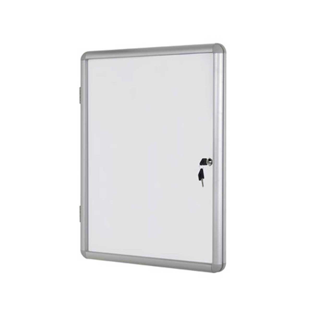 Bi-Office Display Case Magnetic Lockable 600x900mm