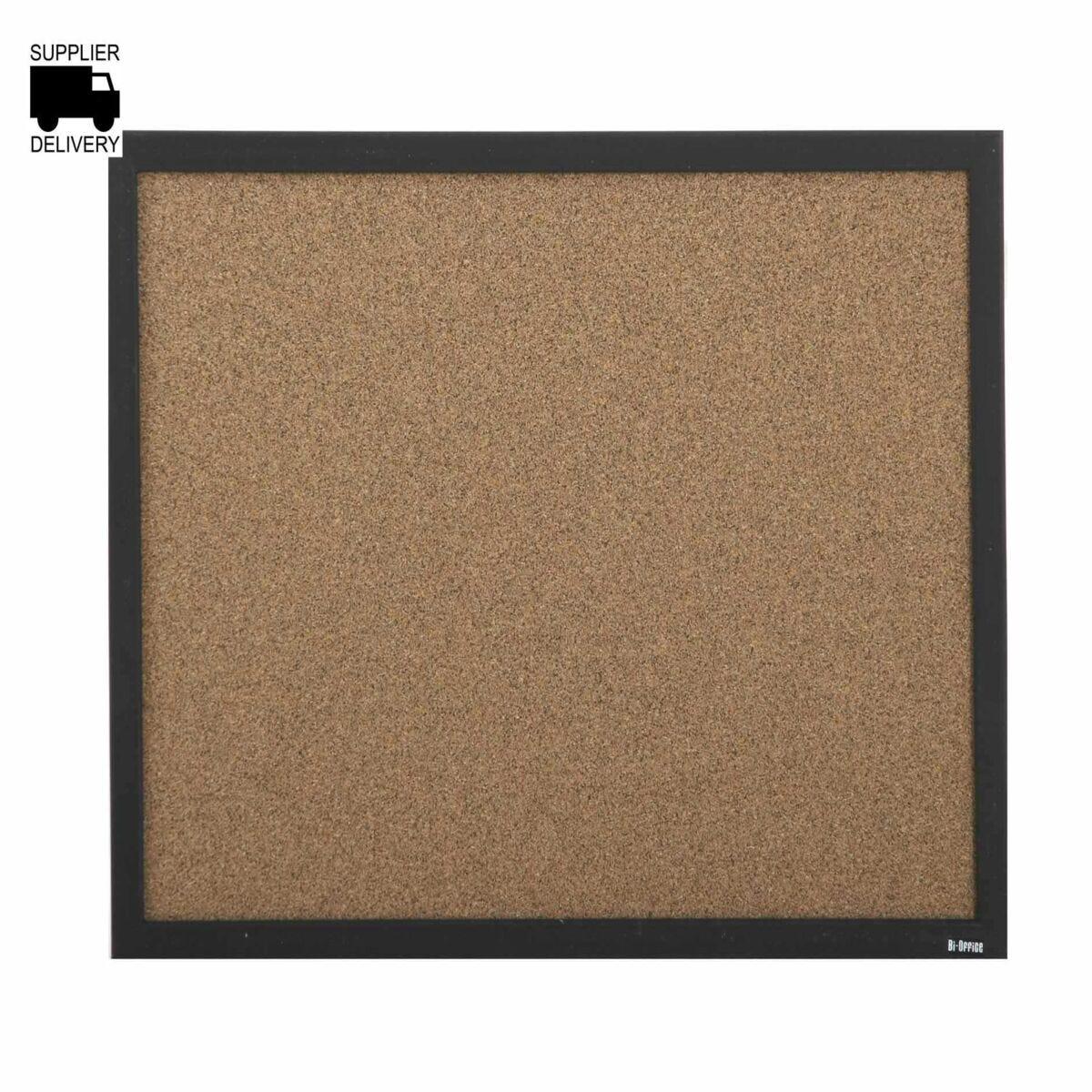 Bi-Office Techcork Notice Board 600x450mm MDF