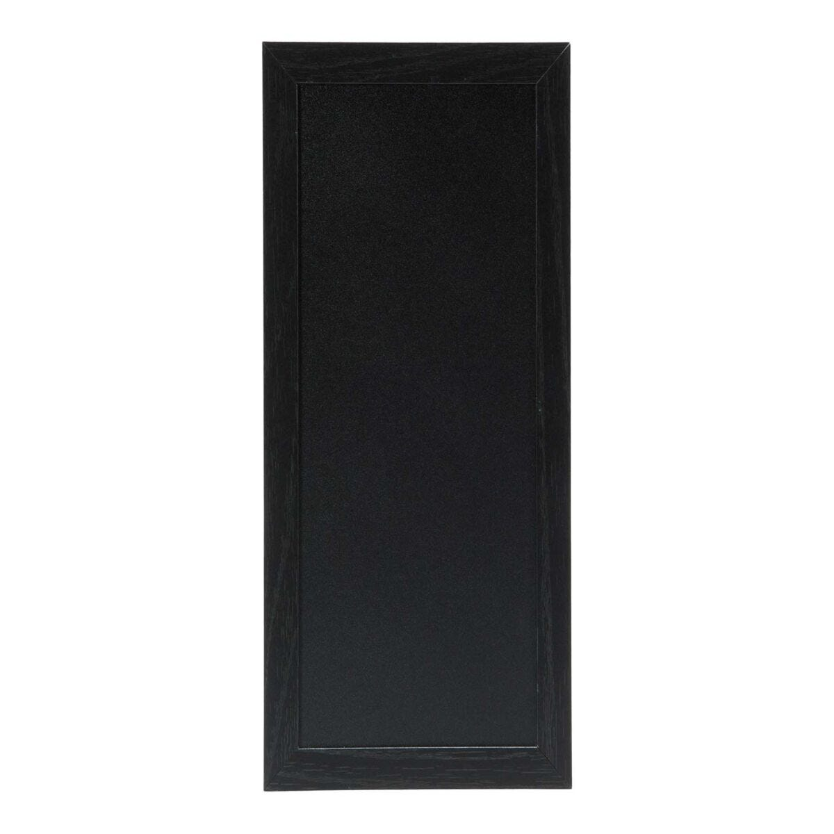 Securit Chalk Board with Black Frame - 20 x 40cm