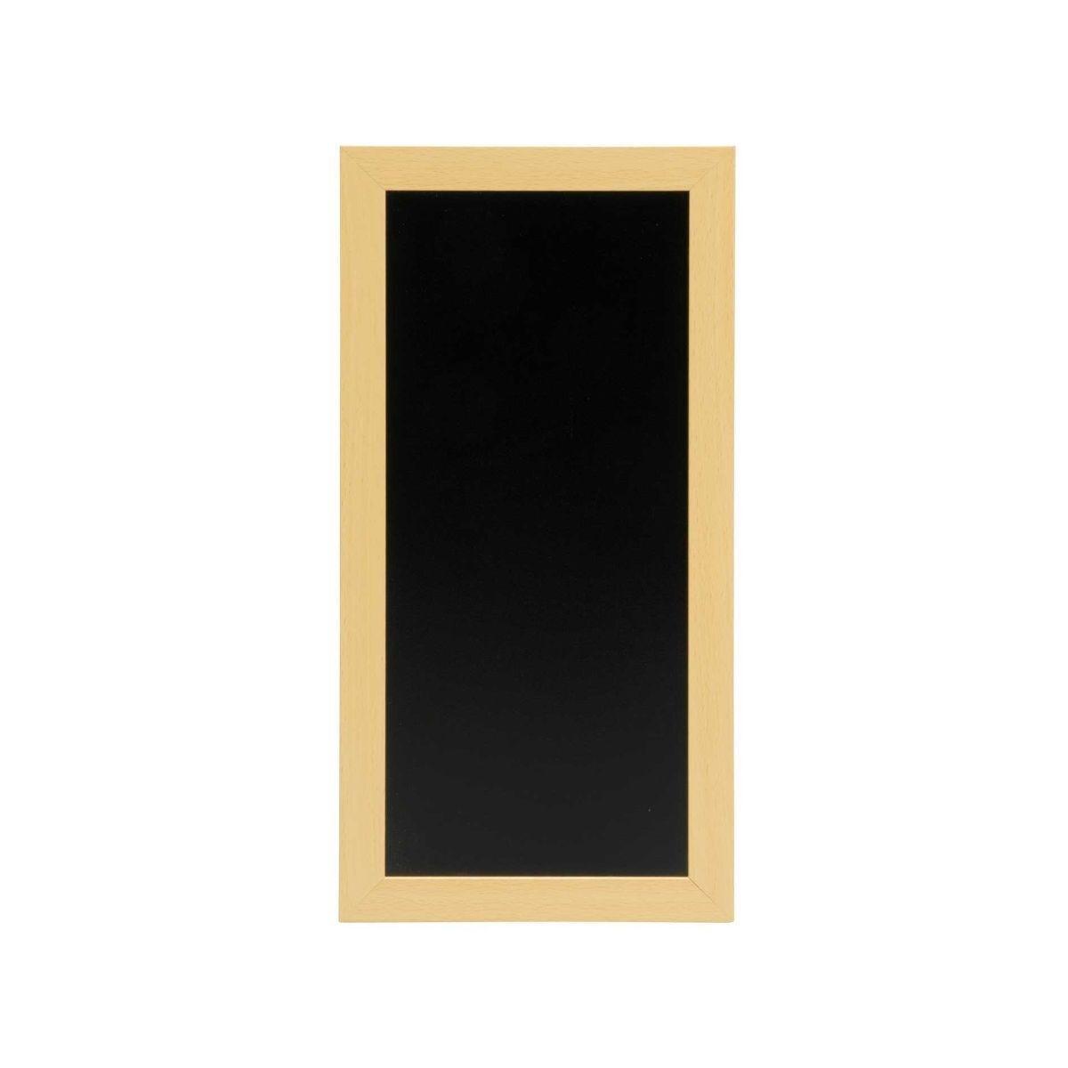 Securit Chalk Board with Black Frame - 30 x 40cm Black