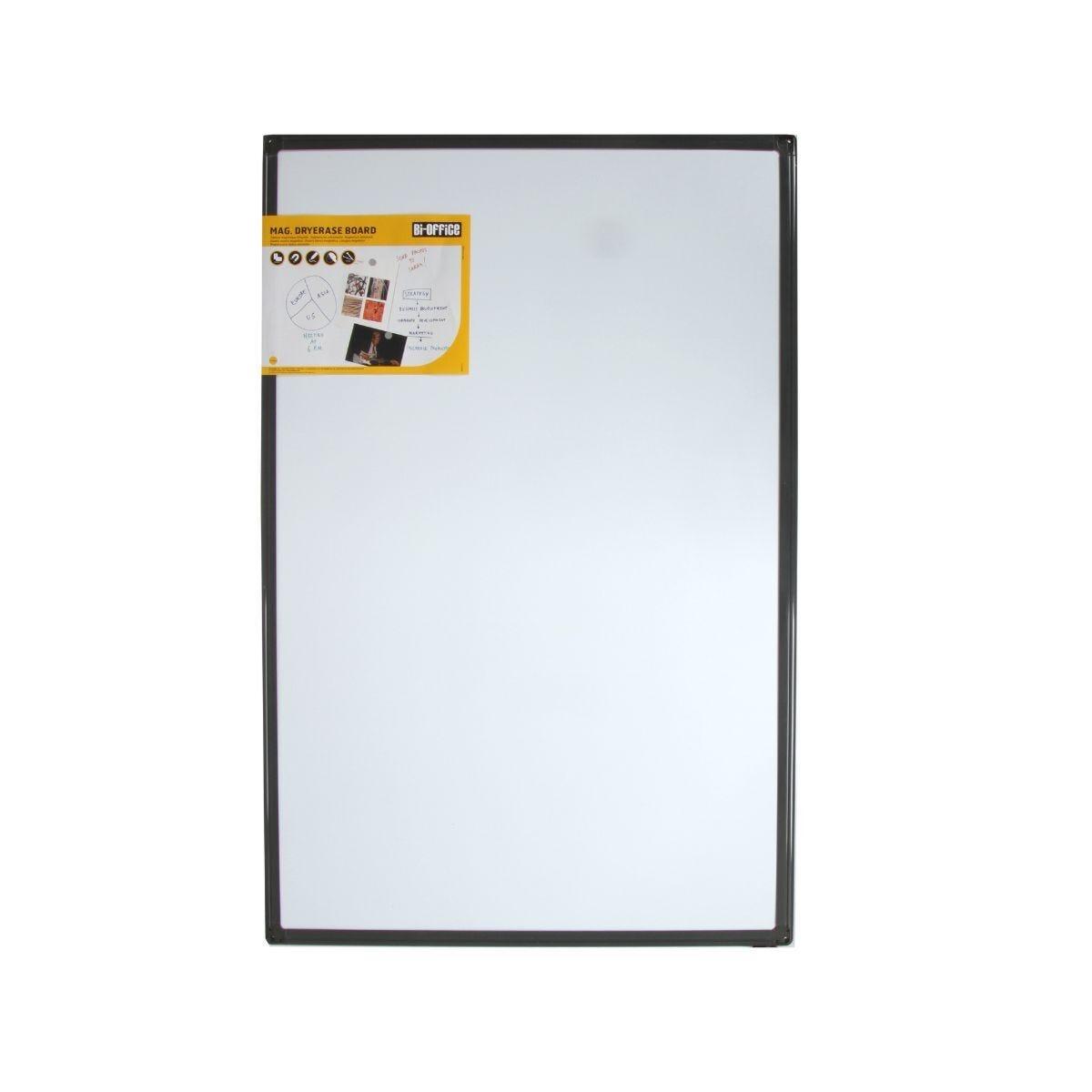 Bi-Office  Magnetic Whiteboard 900x600mm Frame