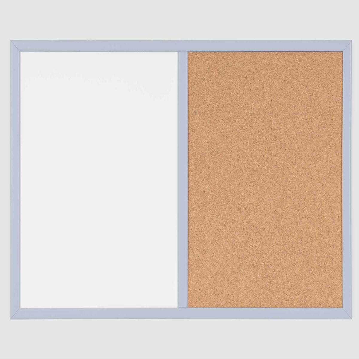 Dry Wipe Cork and Magnetic Combo Board Pastel Frame 600x400mm
