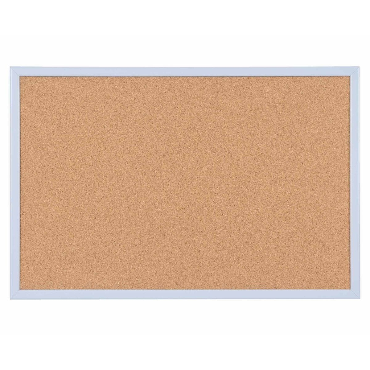 Cork Board Pastel Frame 600x400mm Blue