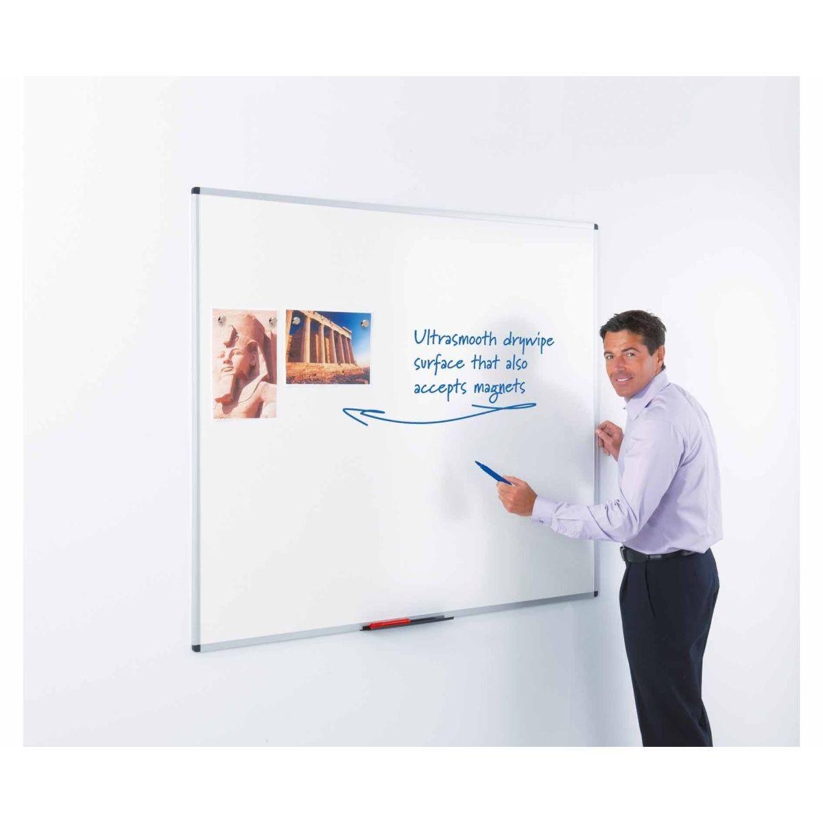 Metroplan WriteOn Magnetic Whiteboard 1200 x 2400mm