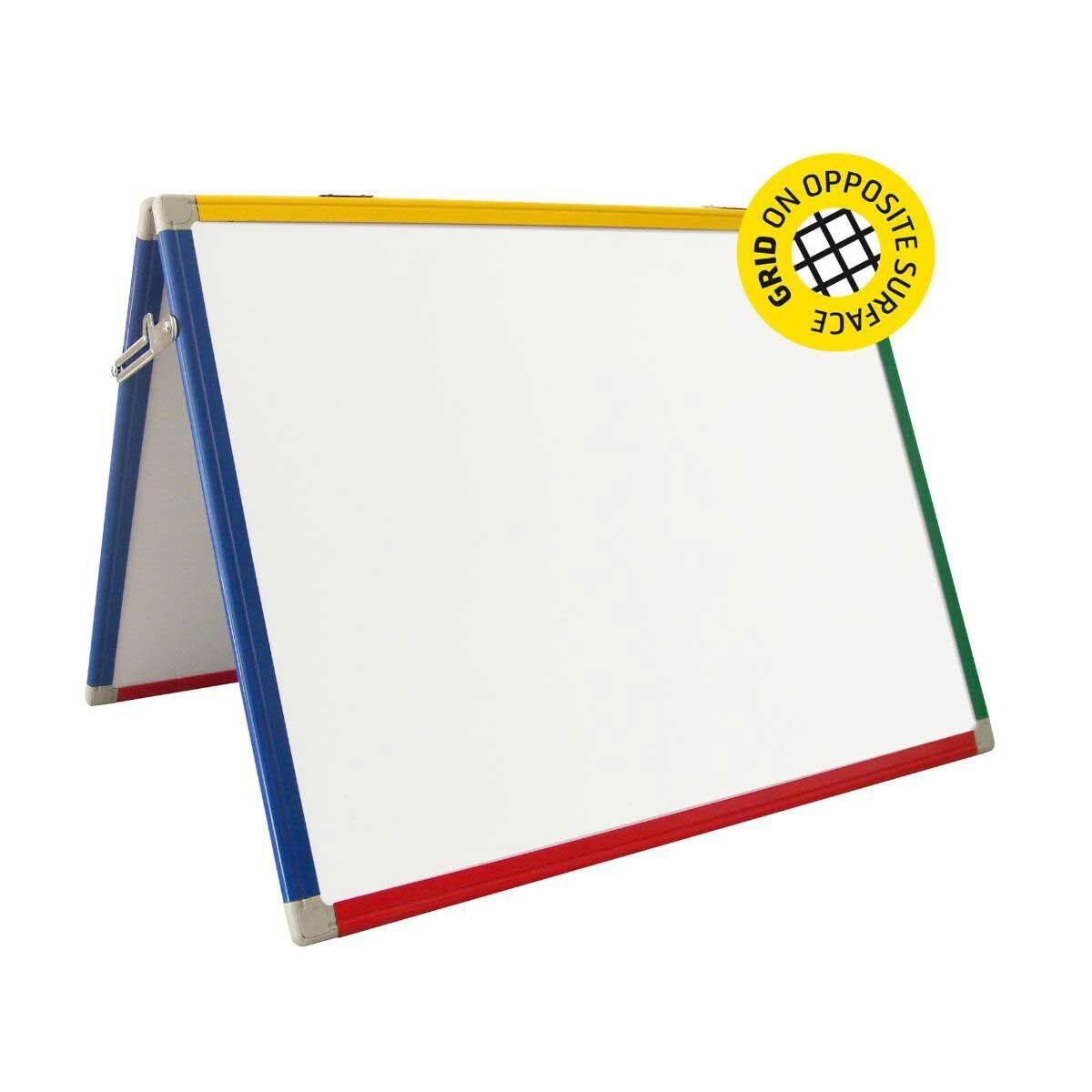 Desktop Easel, Dry Erase and Magnetic 600x405mm